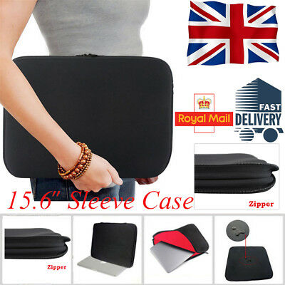 """15.6"""" Notebook Laptop Sleeve Cover Case Bag For HP DELL Toshiba Mac Sony Acer"""