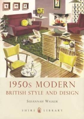 1950s British Styles & Design Post WWII incl Household Furnitre, Modern Decor