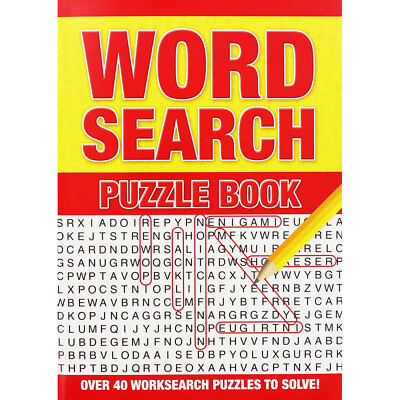 Large Print Wordsearch by Alligator Books (Paperback), Books, Brand New