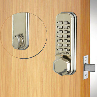 Codelocks CL210 Tubular Deadbolt SS