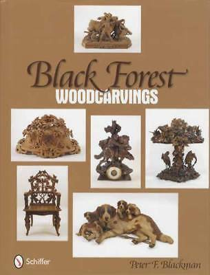 Antique Black Forest Woodcarvings Collector Guide incl Clocks Animals Furniture