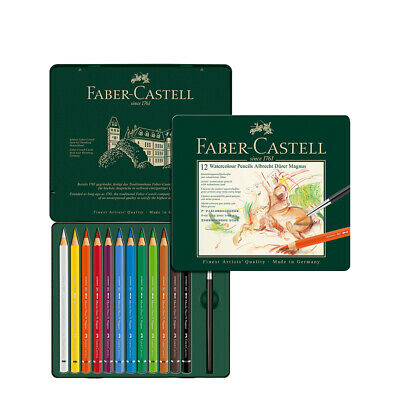 Faber Castell Albrecht Durer Magnus Watercolour Pencil Tin Set Of 12