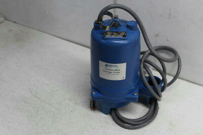 Goulds 1 HP 200 Volts Submersible Sewage Pump 3 Ph-( WS1038B  )
