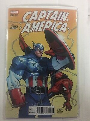 CAPTAIN AMERICA #695, ACE Comic Con 2018 Variant, (SPIDER-MAN) FREE SHIPPING