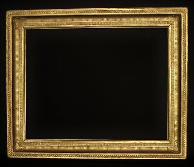 """A Large Early C19th Georgian Gilt Picture Frame. Sight Size. 36 1/2"""" x 28 1/2""""."""