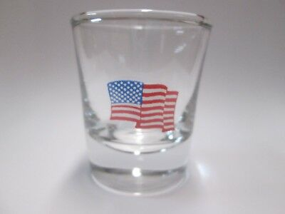 American Flag United States Of America Logo Shot Glass