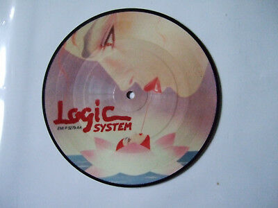 "LOGIC SYSTEM Be Yourself 7"" VINYL UK Emi Limited Pic Disc Short Version"
