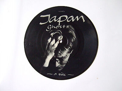 "Single---""Japan""--- Ghosts  vinyl picture disc---VSV 472"