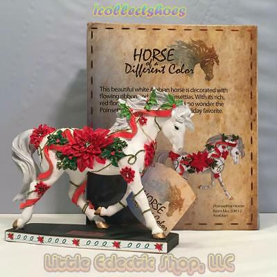 20612 Arabian POINSETTIA HORSE #196 Resin Horse of A Different Color Figurine