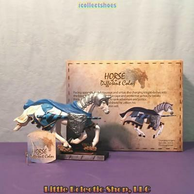 20354 Thoroughbred CHARGING KNIGHT #101 Resin Horse of a Different Color Figure