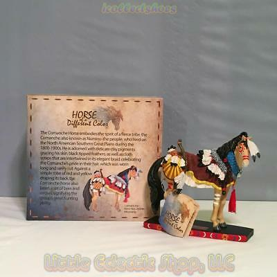20346 Mustang COMANCHE #67 of 10k Resin Horse of A Different Color Figurine