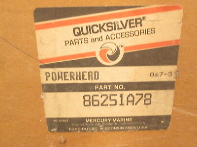 86251A78 NEW Complete Mercury 1150 6 Cyl Powerhead 115HP 1973-1977