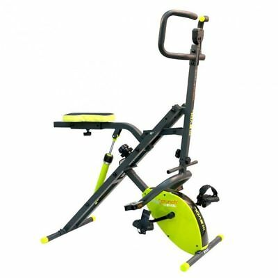 S# Inova Heimtrainer Multifunktions Fitnessgerät Body Crunch Evolution Grün BOC0