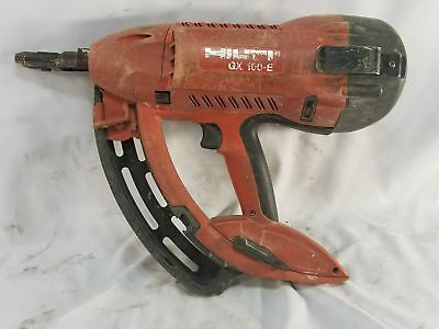 Hilti  GX 100 E Fully Automatic Gas-Actuated Fastening Tool LIGHT & DURABLE