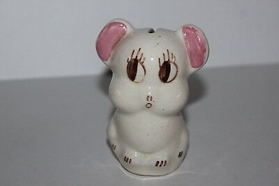 Cute Vintage Ceramic Baby Bear / Mouse Coin Bank
