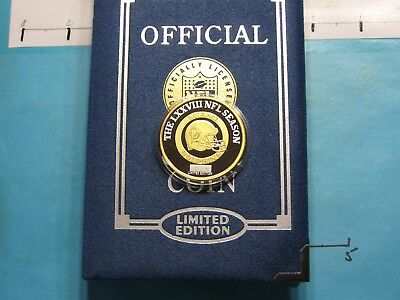 Miami Dolphins Football 1997 Official Game 78Th Nfl Season 999 Silver Gold Coin