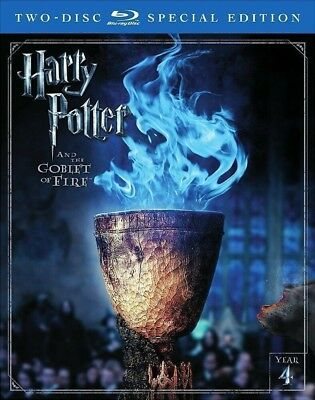 Harry Potter and The Goblet of Fire 2 Disc Blu-Ray Special Edition NEW
