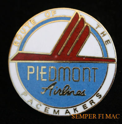 Piedmont Airlines Logo Seal Lapel Hat Pin Up Pilot Flight Crew Ramp Gift Wow