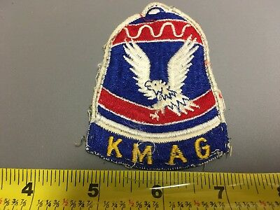 Off the Uniform Used Korean War KMAG Patch