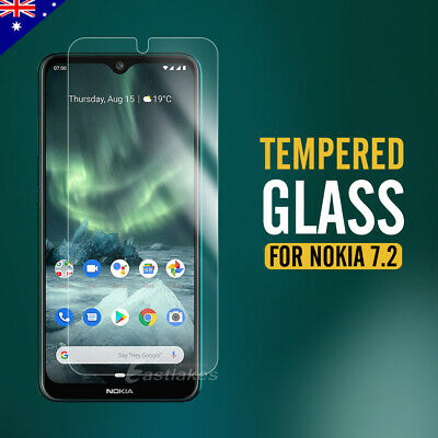 2x Scratch Resist 9H Tempered Glass Screen Protector for Nokia 7.2 6 8 8.1