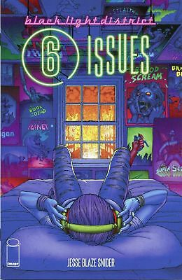 Black Light District - 6 Issues: #1 Nm 2016 Image Comic Book Ap