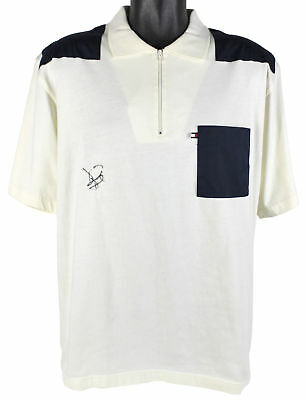 David Duval Authentic Signed Tommy Hilfiger Polo Autographed BAS #D43259