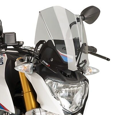 Saute vent Touring pour Harley Davidson Sportster 1200 Nightster 08-12 Puig Naked New Generation fum/é fonc/é XL 1200 N