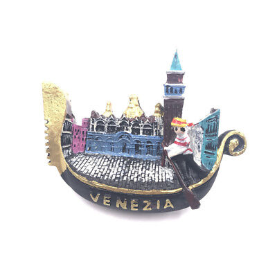 Creative 3D Resin Tour Souvenir Fridge Magnet Refrigerator Sticker Venice Italy