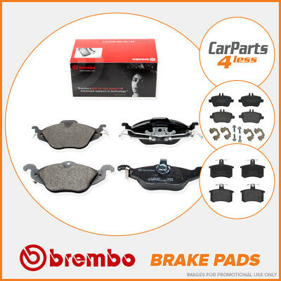Brembo P30011 OE Replacement Pad Set Front Brake Pads Fits Hyundai Amica Atos Mx