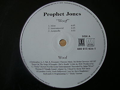 "Prophet Jones Woof 12"" Vinyl Single"