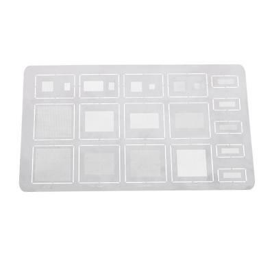 Universal Phone Chip Planting Tin Board Stainless Steel Repair Plants Tin Net