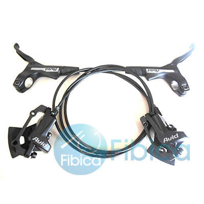New Avid DB 1 DB1 MTB Hydraulic Disc Brake set Elixir Black