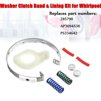 Washer Clutch Band Lining Kit 285790 AP3094538 PS334642 Assembly For Whirlpool