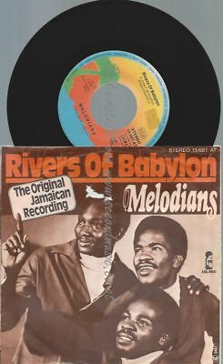 """7""""   Melodians* / Jimmy Cliff – Rivers Of Babylon / Many Rivers To Cross"""