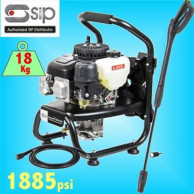SIP 08912 Petrol Jet Pressure Washer 1885psi farm yard truck cleaner patio drive