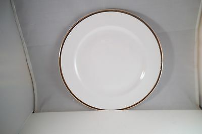 Vintage WS George Derwood Made in USA 123B Gold Rim Salad Lunch Plate
