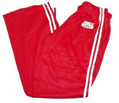 bbc4cee91 Junior Women s Los Angeles Angels of Anaheim Mesh Pants MLB Baseball Red NEW