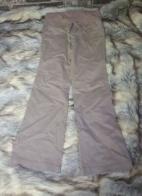 Womens Old Navy Maternity Pants 8 Long EUC