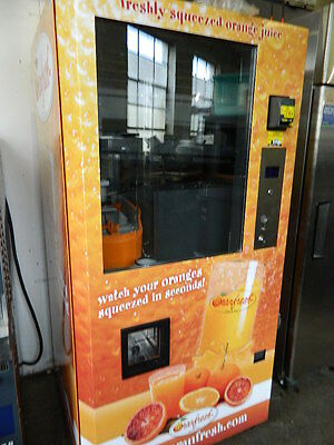 """2012"" Oranfresh Or130 Citrus Fresh Squeeze Orange Juice Vending Machine Organic"