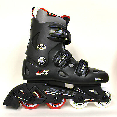 New California Pro Misty II Kids & Adult Inline Roller Blades Skates rrp £75