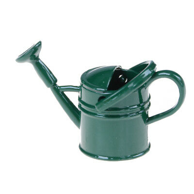 1:6/1:12 Metal Watering Can Dolls House Miniature Gardens Accessory Home Decors