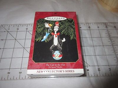 Vintage New in Box Hallmark Keepsake Ornament THE CAT in the HAT 1999 Collector