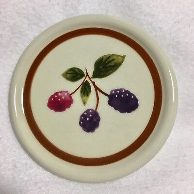 Longaberger Pottery Berry Fruit Medley Crock Lid - LID ONLY