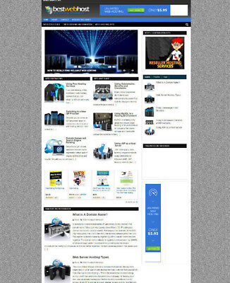 Web Hosting Help Website & Store With Affiliates + Free Domain