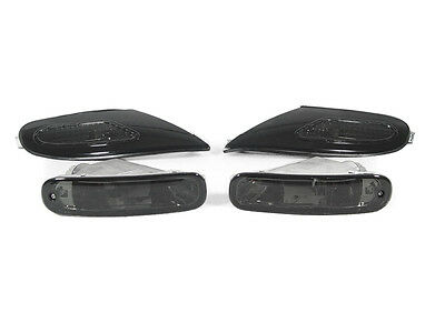DEPO Smoke Front Corner + Bumper Lights FIT 90 91 92 93 TOYOTA CELICA GT ST GTS