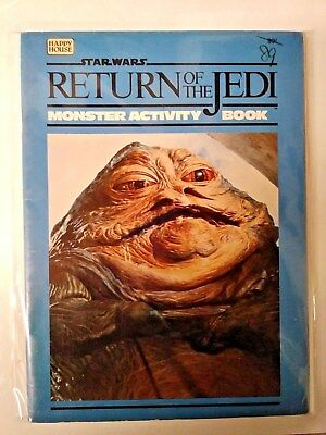 Star Wars Return Of The Jedi, Monster Activity Book, Free Shipping