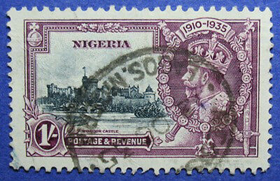 1935 Nigeria 1S Scott# 37 S.g.# 33 Used Cs05958