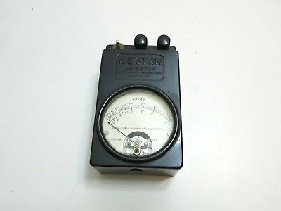 Weston Instruments Inc Ohmmeter Ohm Meter Model 689