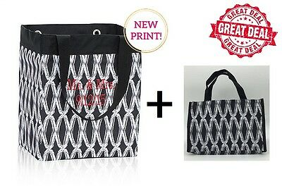 GIFT SET Thirty one Essential storage all in one mini tote Bag 31 black links