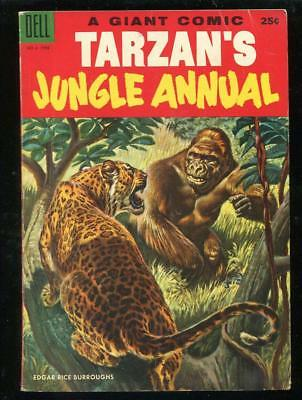 Tarzan Jungle Annual 3 4 1954 1955 Dell Giant